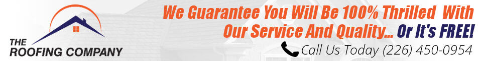 The Roofing Company Brantford, ON - Roofing Contractor