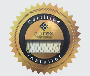 Certified Alu-Rex Gutter and Gutter Guard Installer