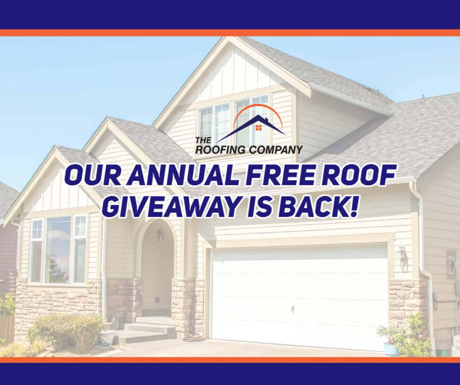 Free Roof Give away